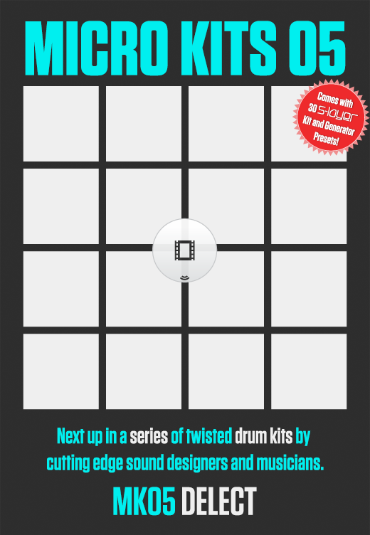 MICRO KITS 05 BY DELECT – Free Sample Sound Pack | Twisted Tools